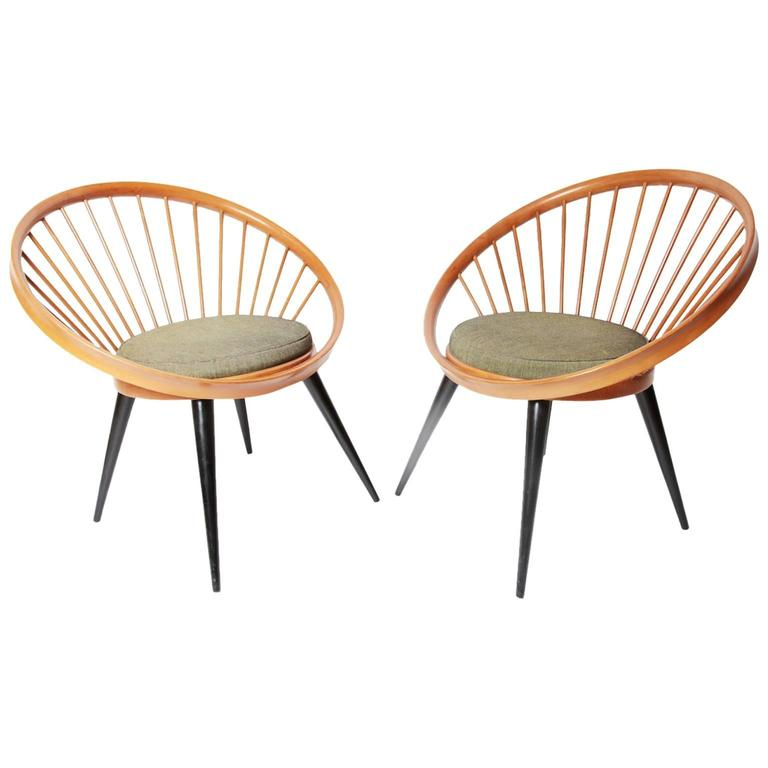 Circle Chair by Yngve Ekström for Swedese, circa 1960 at 1st
