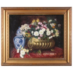19th Century French Flower Still Life