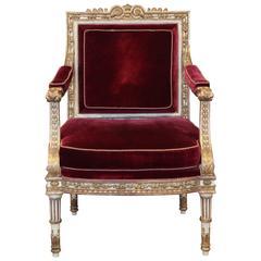 Louis XVI Style Armchair Made by La Maison London