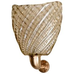 Single One-Arm Sconce