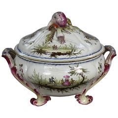 French Faience Jardiniere by Veuve Perrin