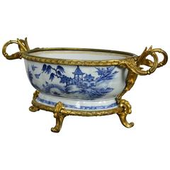 French Chinoiserie Jardinière with Gilt Bronze Mounts
