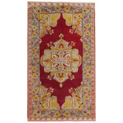 Handmade Antique Turkish Rugs, Antique Rugs, Anatolian Carpet for Home Decor
