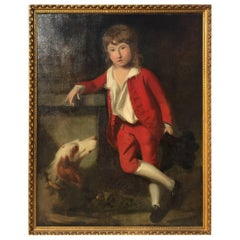 Portrait of Boy after Charles Willson Peale