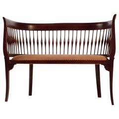 Antique Walnut Settee