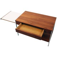 Original Walnut Side Table by George Nelson for Herman Miller