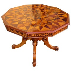 19th C West Indies Regency Specimen Top Table