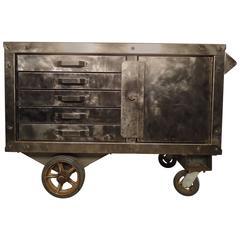 Heavy Duty Industrial Factory Cart