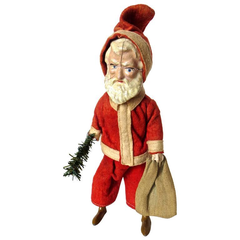 """""""Santa Claus Walking"""" Wind-Up Toy, circa 1890"""