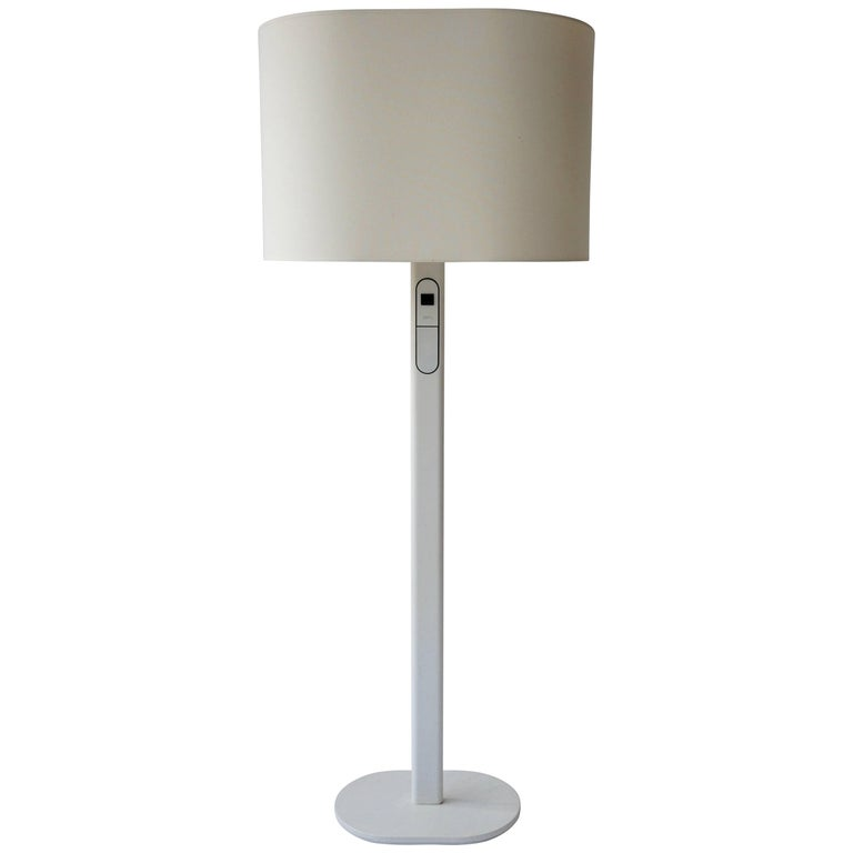 White Floor Lamp by Staff Germany For Sale