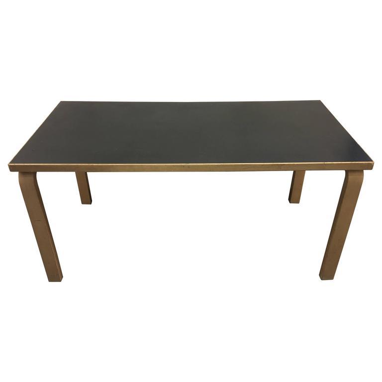 alvar aalto dining table at 1stdibs. Black Bedroom Furniture Sets. Home Design Ideas
