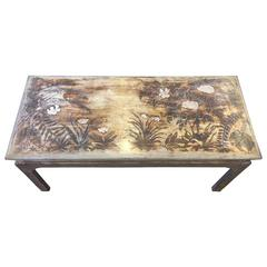 Silver Leaf Kuehne Coffee Table