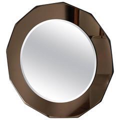 Mid-20th Century Circular Mirror