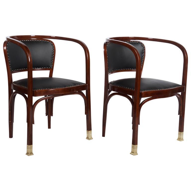 Chairs by Gustav Siegel for Kohn