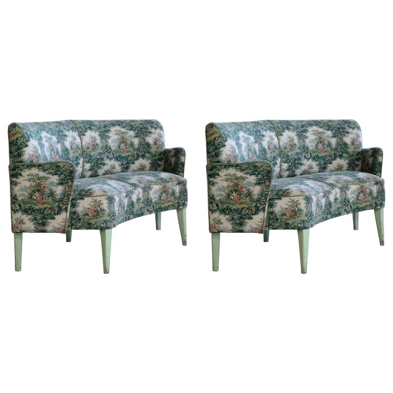 Set of historical sofas from divan two in tivoli garden for Divan 1 tivoli