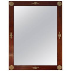 French 19th Century Empire Style Framed Mirror