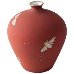 1920s Giovanni Garibold Richard Ginori Insects Vase