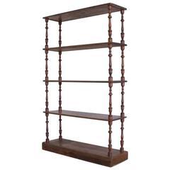 19th Century Print Shop Shelves