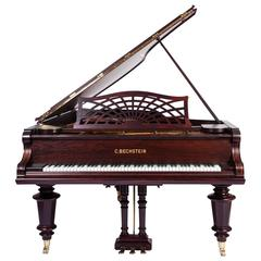 C.Bechstein ii Semi Concert Grand Piano Rosewood Three Pedals New Renner Action