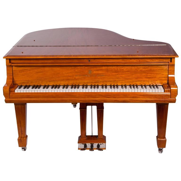 Lemon Wood Furniture ~ Steinway and sons l grand piano lemon wood handpolished