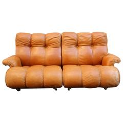 Brazilian Leather Settee