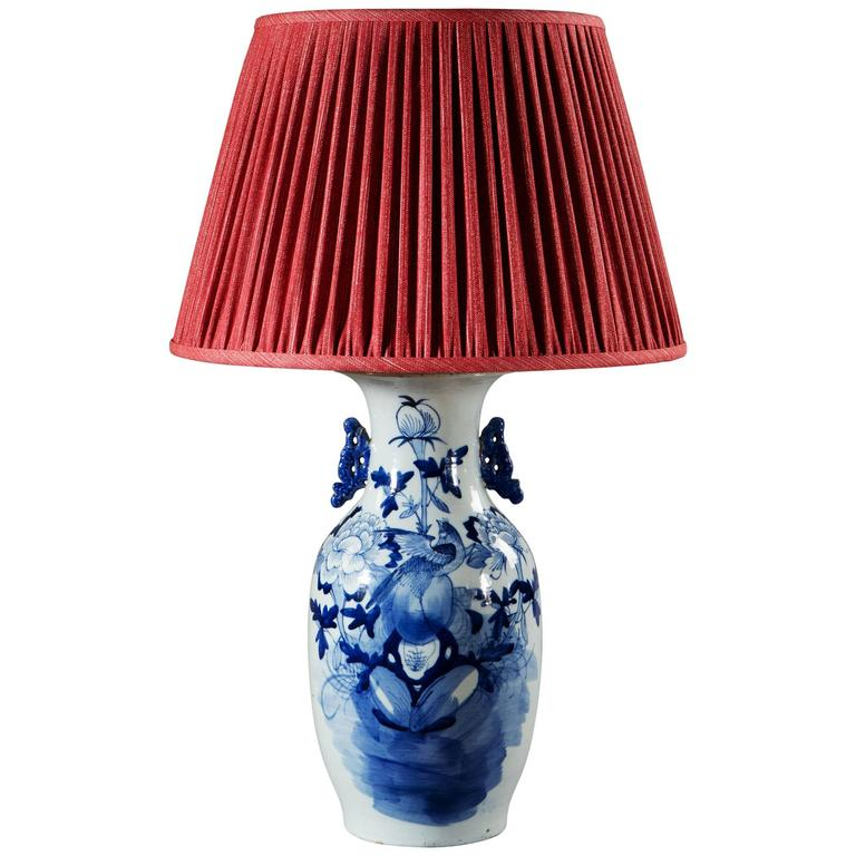 Early 20th Century Chinese Lamp