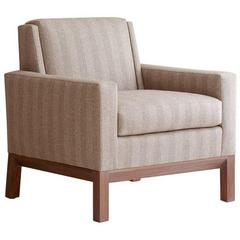 Contemporary Texel Club Chair, Custom & Made to Order by Dmitriy & Co.