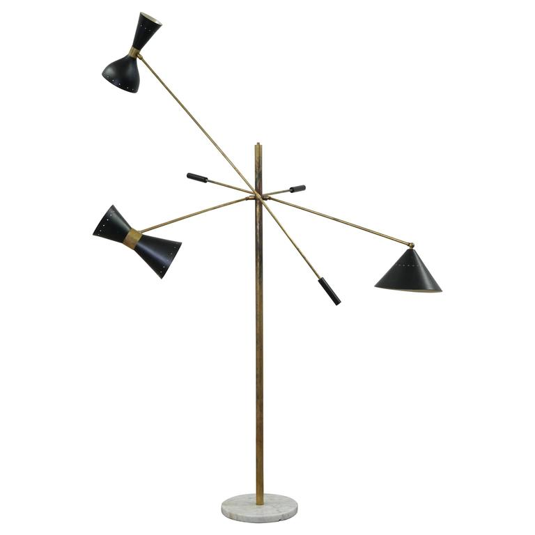 three armed floor lamp with marble base is no longer available. Black Bedroom Furniture Sets. Home Design Ideas