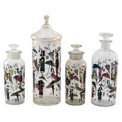 Rare Group of Vintage Decanters by Georges Briard