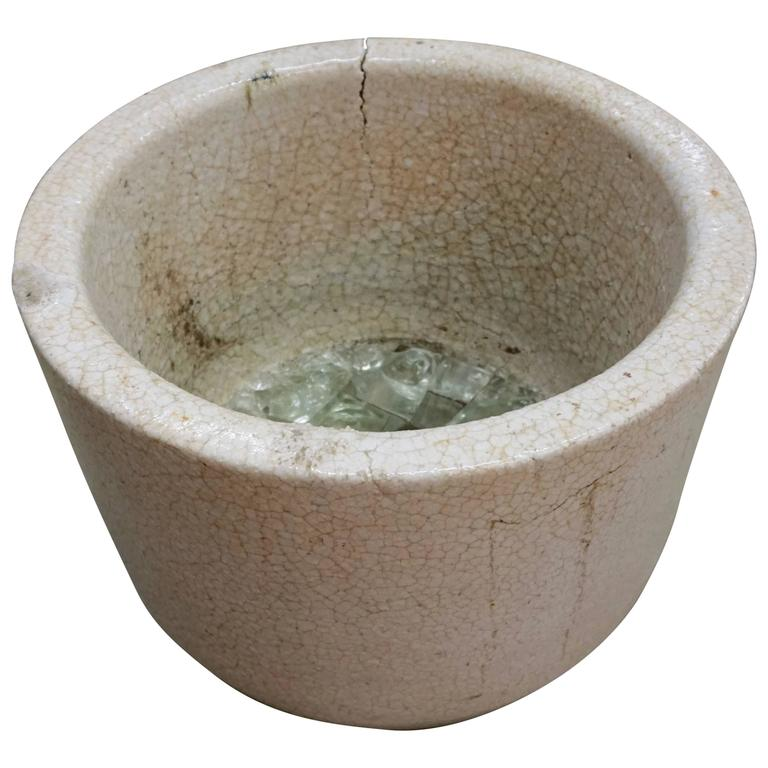 Ceramic Glass Blowers Crucible/Vessel