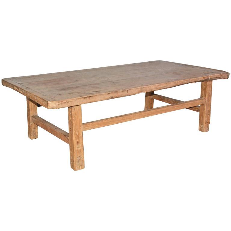 Rustic Teak Coffee Table