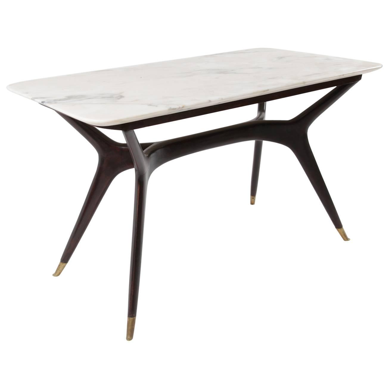 Italian Marble Coffee Table By Ico Parisi Circa 1955 For Sale At 1stdibs