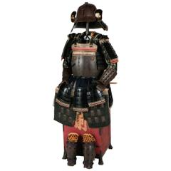 18th Century Yoroi Japanese Decorative Samurai Armour