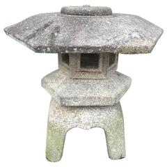 Japanese Antique Stone Lantern