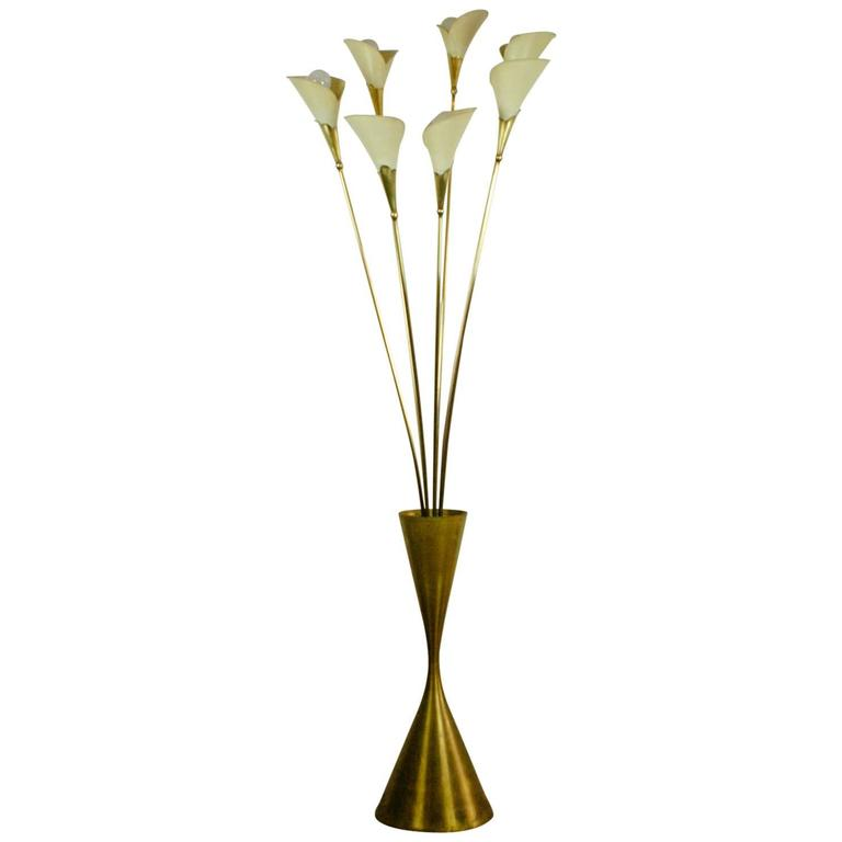 Calla Floor Lamp in the style of Angelo Lelli for Arredoluce, Italy