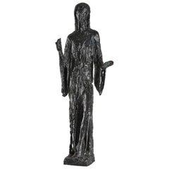 "Bronze Sculpture ""Sacred Dance"" by Edmond Moirignot"