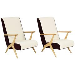 Carlo Mollino Attributed Armchairs