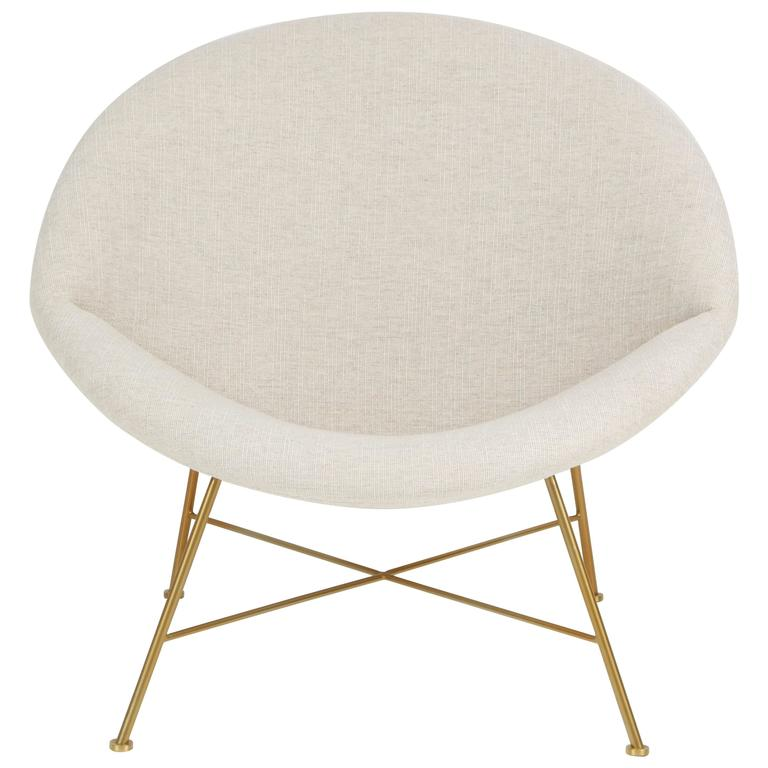 Large Curved Chair For Sale