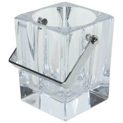 Vannes French Crystal Ice Bucket