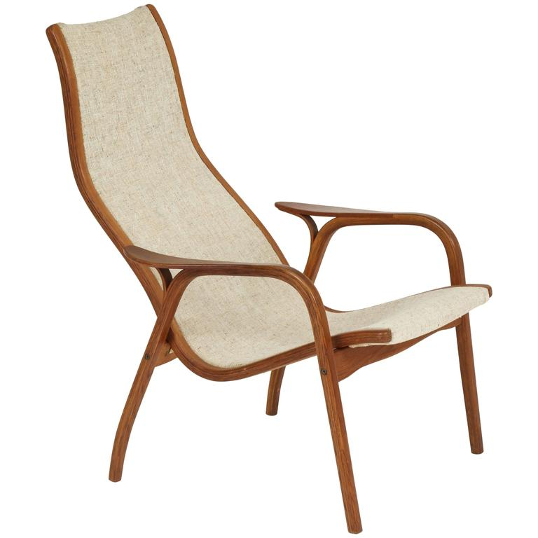 Chair, Lounge by Yngve Ekström, Sweden, C 1960 For Sale at 1stdibs