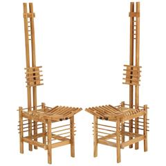"""Pair of French """"Skeleton"""" Chairs"""