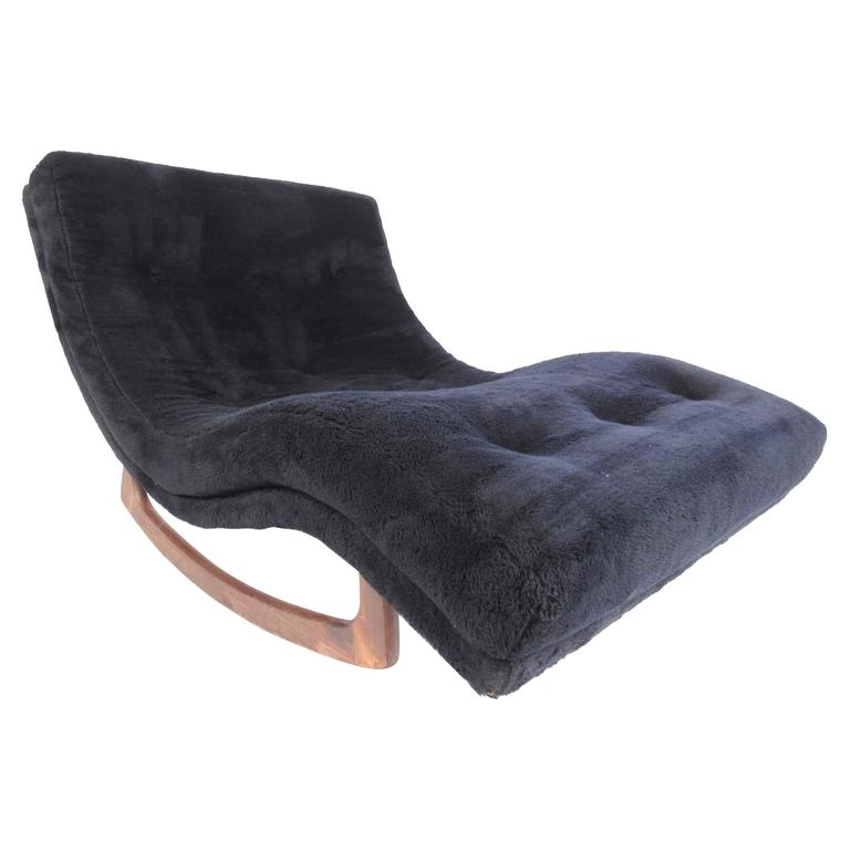 Adrian pearsall wave chaise longue rocker for craft for Chaise longue wave