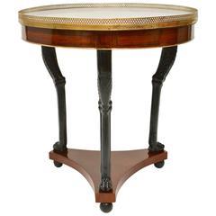 Directoire Gueridon Table