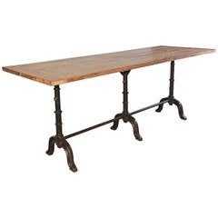 French Country Cafe Bistro Dining Table