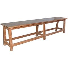 Rustic Teak Bench or Coffee Table