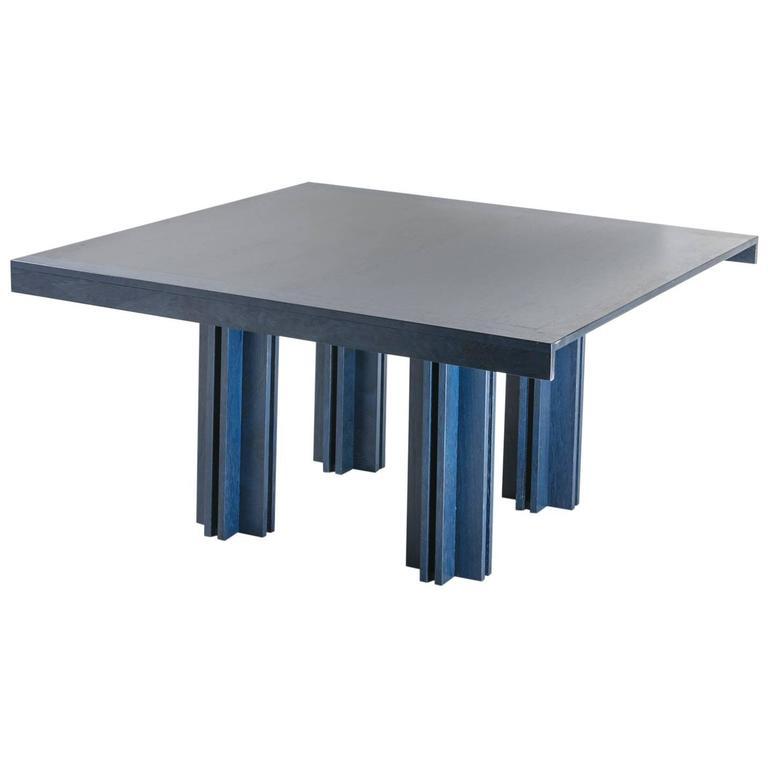 """Quatour"" Table by Carlo Scarpa for Simon Gavina For Sale"