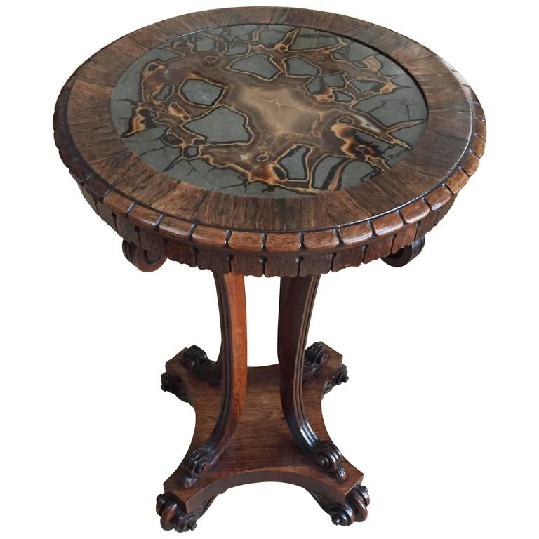 George IV Turtlestone Table 1