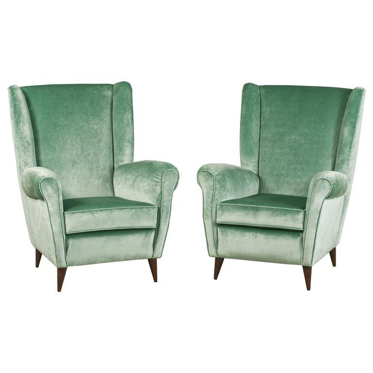 Glamorous Armchairs by Gio Ponti
