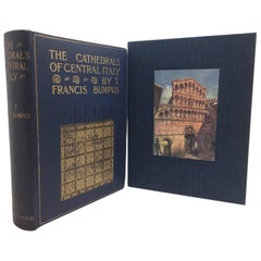 """""""Cathedrals of Central Italy"""" by Francis Bumpus, First Edition, circa 1911"""