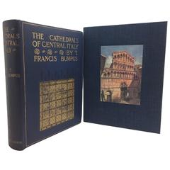 Cathedrals of Central Italy by Francis Bumpus, First Edition, circa 1911